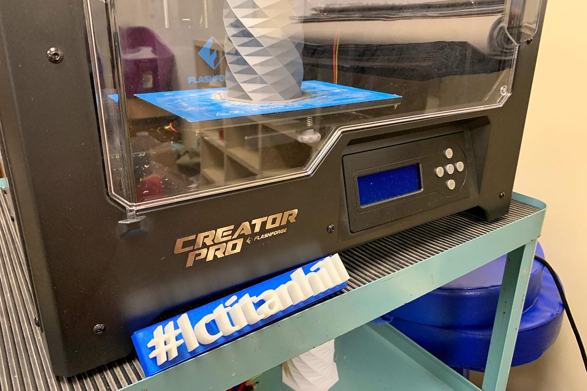 Titan Hill Intermediate School 3D Printing